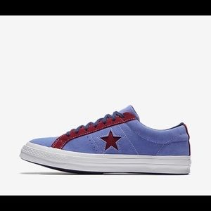 Converse One Star Carnival Low Top Periwinkle
